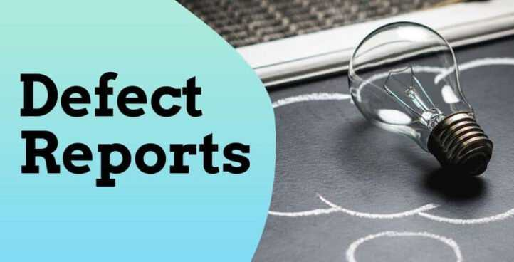 Defect Reports